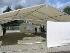 Festzelt Partyzelt Profizelt PVC Stabil/ Weiss / 10x6m / 3m Rastermaß