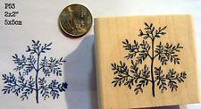 Herb twig rubber stamp  WM P53