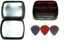 3 Dunlop Max Grip Jazz Iii Guitar Picks 1 de cada tipo en un práctico Pick Tin
