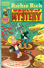 Richie Rich Vault of Mystery #4 - Harvey Comics, 25¢ cover, May 1974