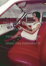 HOLDEN HR SPECIAL INTERIOR A3 CAR POSTER PRINT PICTURE IMAGE PHOTO x