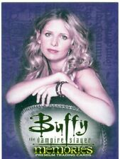 Buffy TVS Memories Promo Card B-UK