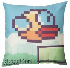 Flappy Bird 'Pipes' 40cm Printed Cushion Brand New Gift