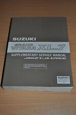 Werkstatthandbuch SUZUKI JA 627 420 WD Grand Vitara XL_7 H27 RHW Anhang 2003