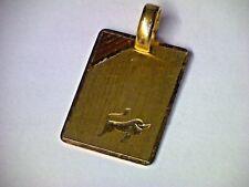 """Anhänger Sternzeichen Tierkreiszeichen """"Stier"""", Platte in Gold 333"""