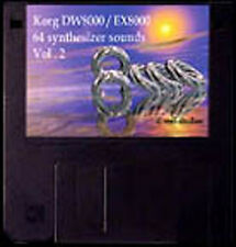 Sound-Set Korg DW-8000/EX-8000 Volumen 2 Midisounds waveframe, Yamaha,Roland,EMU