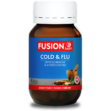 Fusion Health Cold & Flu 60 Tablets