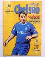 Chelsea v. Galatasaray Champions League 1999 Stamford Bridge