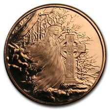 Celtic Lore - Banshee -  1oz .999 BU copper round