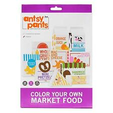 Antsy Pants Color Your Own - Play Food Boxes