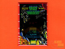 "Space Invaders Deluxe bezel 2x3"" fridge/locker magnet Bally Midway arcade"