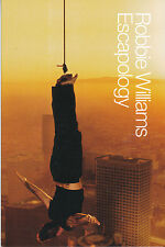Robbie Williams Escapology RARE promo collectible card '02