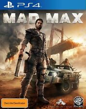 Mad Max Playstation 4 PS4 Game BRAND NEW *DISPATCHED FROM BRISBANE*
