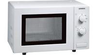 Siemens HF12M240 iQ100 Mikrowelle, 17 L, 800 W einbaufähig Microwave weiß