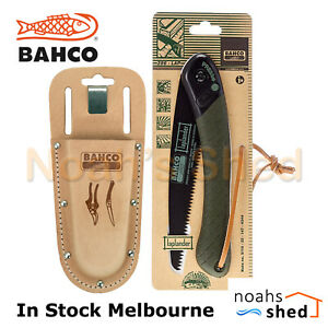 BAHCO Leather Secateurs Holster and Folding Laplander Saw Camping PROF-H 396-LAP