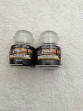 Yankee candle 2 small jars 'Black Coconut'