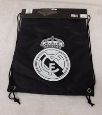 Real Madrid Black Color Official Licensed Cinch Bag With Tags