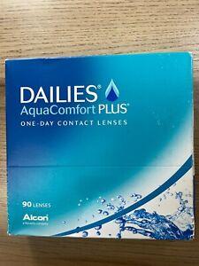 Dailies AquaKomfort Plus One Day Kontaktlinsen weich BC 8.7 DIA 14.0 90 Stück