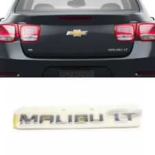 OEM Rear Trunk Lettering Chrome Emblem Badge for CHEVROLET 2012 - 2016 Malibu LT