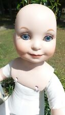 Wizard Of Oz TURNER ENTERTAINMENT 2000 Porcelian DOLL for parts FAIRY PRINCESS?