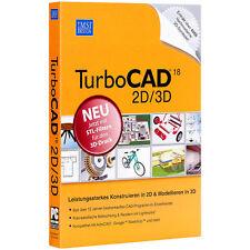 IMSI TurboCAD V.18 2D/3D mit STL-Schnittstelle (3D Drucker-Format)