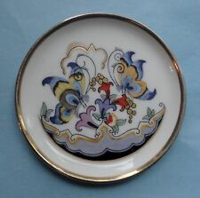 ROSENTHAL China Art Deco WENDLER Antique BUTTERFLY Porcelain BUTTER PAT TRAY 20s