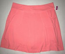 FRESH PRODUCE 2X Sunset Coral Stretch Knit CITY Skort Skirt NWT New 2X