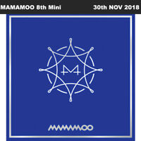 MAMAMOO BLUE;S 8th Mini Album CD+Booklet+PhotoCard+Etc+Tracking Number