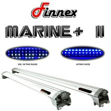 "Finnex Marine+ II 48"" Saltwater LED Aquarium Light 10,000K AL-M48DB Fugeray NEW"