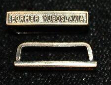 Clasp/Bar for NATO Service Medal Former Yugoslavia, Miniature