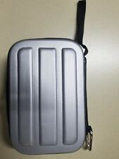 """Silver HDD Hard Disk Bag Portable Protection Supplies Travel Cover 4""""x6"""""""