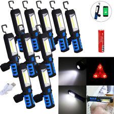 Ring Rechargeable COB LED Flashlight Emergency Work Light Magnetic USB N