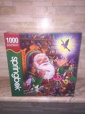 Springbok Magic Touch Santa Christmas 1000 Pc Jigsaw Puzzle