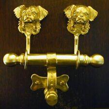Tibetan Spaniel Bronze Duet Door Knocker