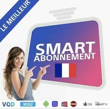 IP*TV Smarters Pro 12 Mois Abonnement(✔️M3U✔️SMART TV✔️ANDROID✔️MAG)OPTION ADULT