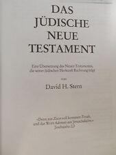 DAS JUDISCHE NEUE TESTAMENT David H Stern 1994 bibbia nuovo testamento tedesco