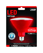 FEIT Electric  PAR38  E26 (Medium)  LED Bulb  Red  120 Watt Equivalence 1 pk