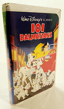 101 Dalmations RARE CLASSIC DIAMOND COLLECTION VHS Tape Walt Disney G Film