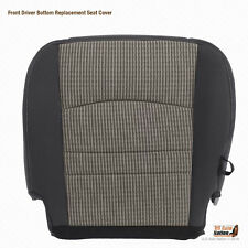 2011 2012 Dodge Ram 4500 SLT DRIVER Bottom Replacement CLOTH Seat Cover GRAY
