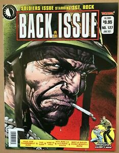 BACK ISSUE MAGAZINE #127 (NM) NEW UNREAD - SOLDIERS ISSUE SGT ROCK BOLLAND CVR