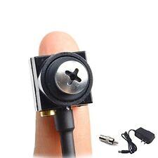 Smallest Spy Hidden Camera Micro Mini Screw Pinhole CCTV Security Cam 1000TVL