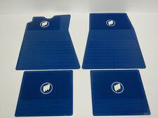 62 63 64 65 66 Buick Riviera LeSabre Invicta Wildcat Electra Floor Mat Set Blue