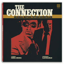 The Connection - Motion Picture Movie Soundtrack LP - CLEAR Vinyl Album Record