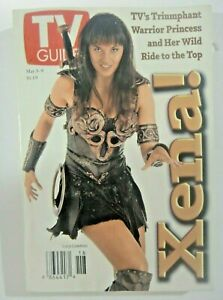 "Xena! Warrior Princess (Lucy Lawless) TV Guide ""May 3-9, 1997  -new"