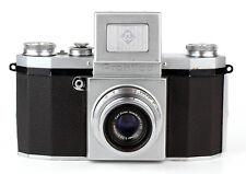 SLR camera KW PRAKTICA First model 1949 + CARL ZEISS JENA TESSAR 50mm F/3.5 T
