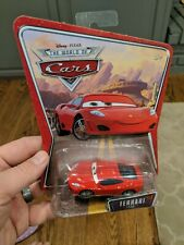 NEW IN PACKAGE PIXAR CARS SUPERCHARGED FERRARI F430