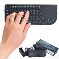 2.4GHz RF Mini Wireless Keyboard Touchpad Built in Laser Pointer For Tablet PC