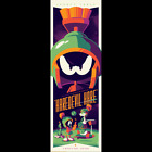 Tom Whalen Haredevil Hare Bugs Bunny Marvin Martian Looney Tunes Print Poster