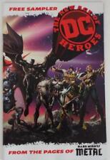 SDCC 2018 DC The New Age Of Heroes SAMPLER Dark Nights Metal
