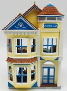 2002 Victorian Inn Hallmark Ornament Nostalgic Houses Shops #19